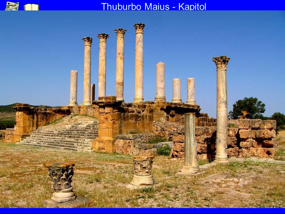 Thuburbo Maius - Kapitol