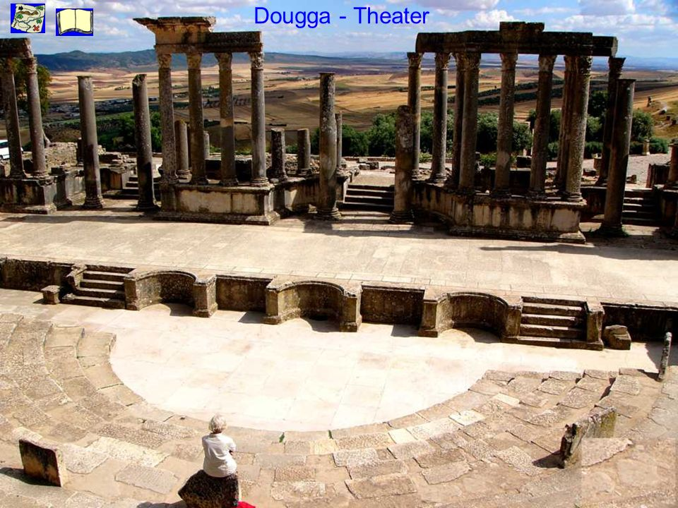 Dougga - Theater