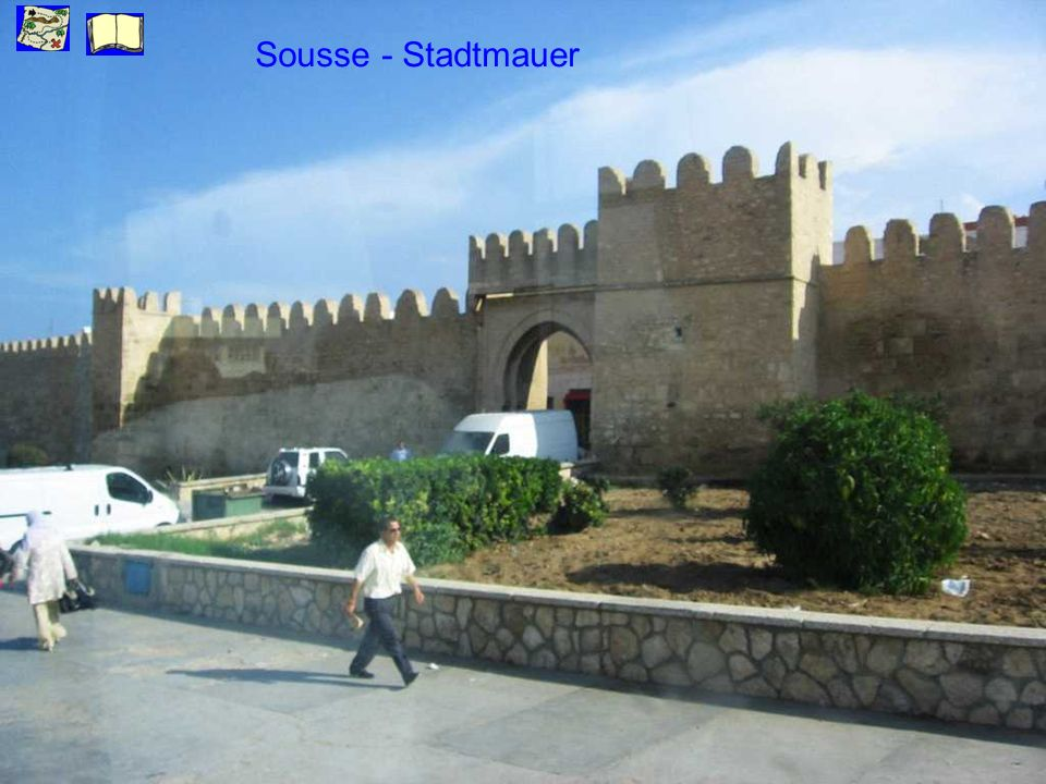 Sousse - Stadtmauer
