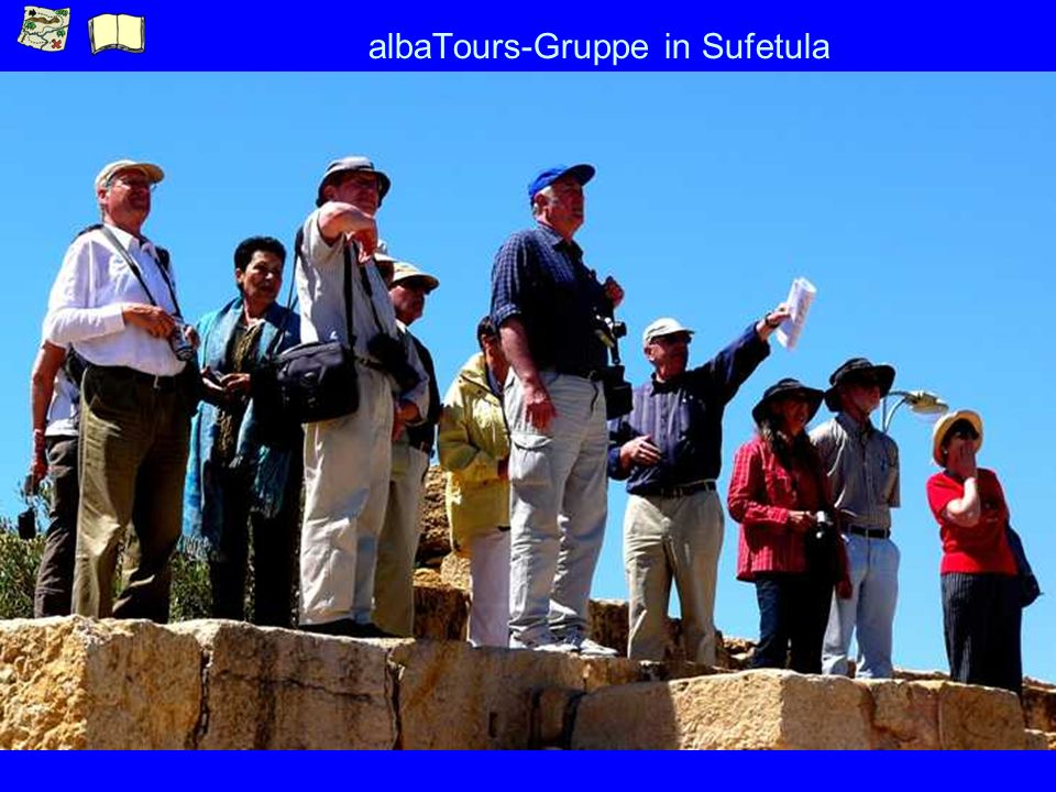 albaTours-Gruppe in Sufetula