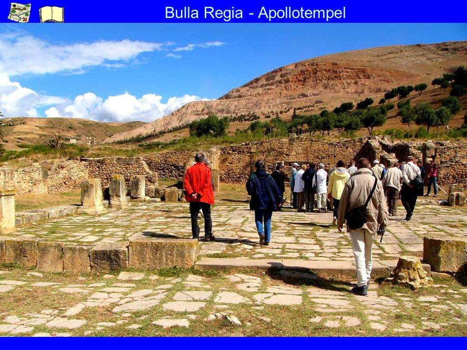 Bulla Regia - Apollotempel