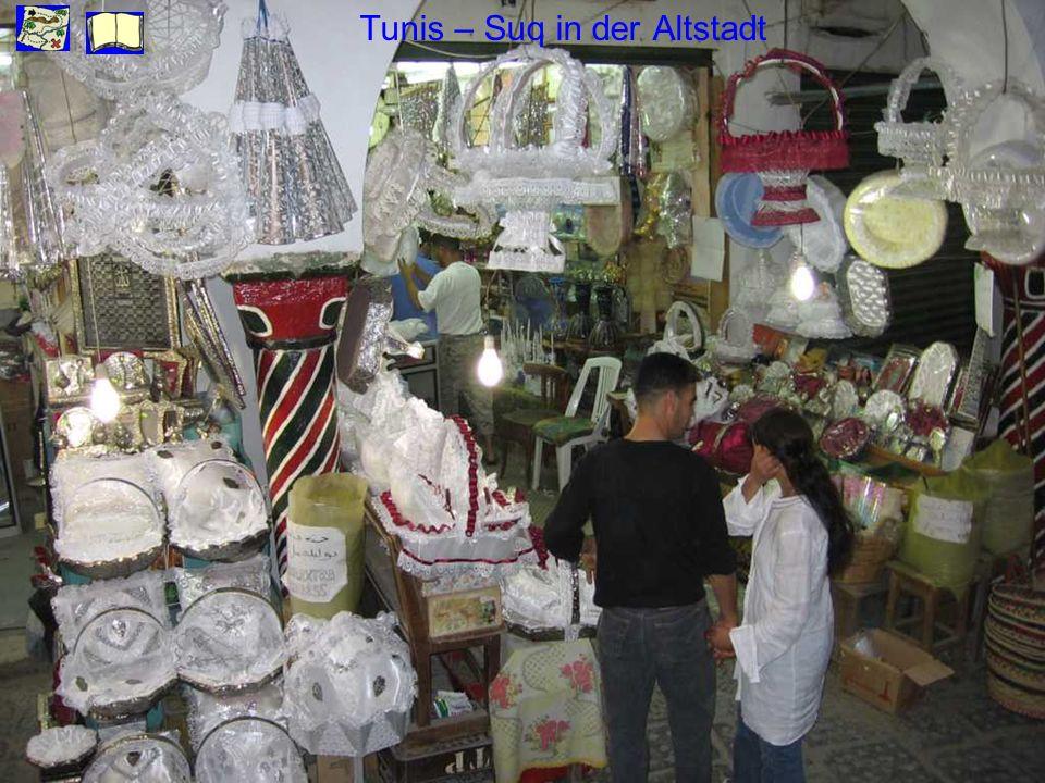 Tunis – Suq in der Altstadt
