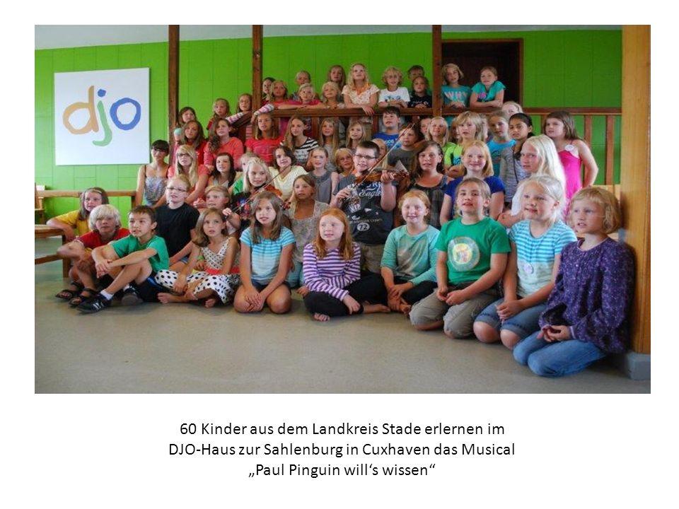 60 Kinder aus dem Landkreis Stade erlernen im