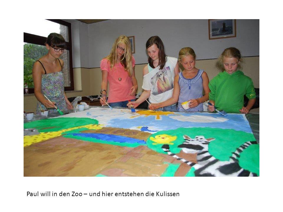 Paul will in den Zoo – und hier entstehen die Kulissen