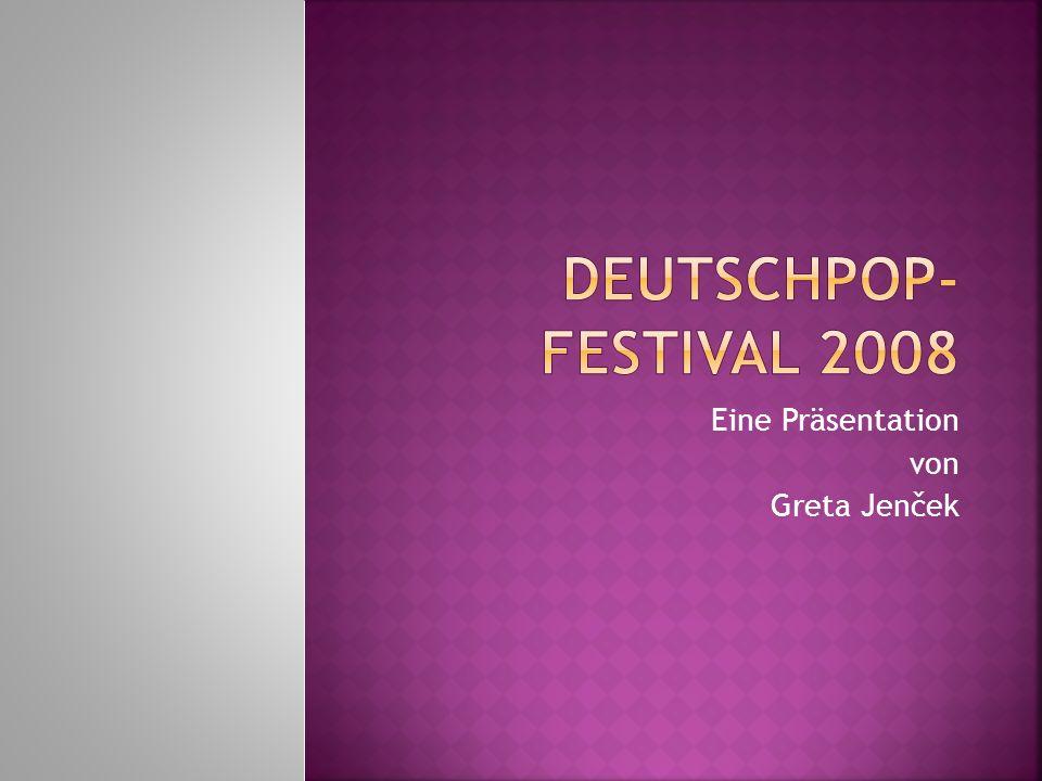 Eine Präsentation von Greta Jenček