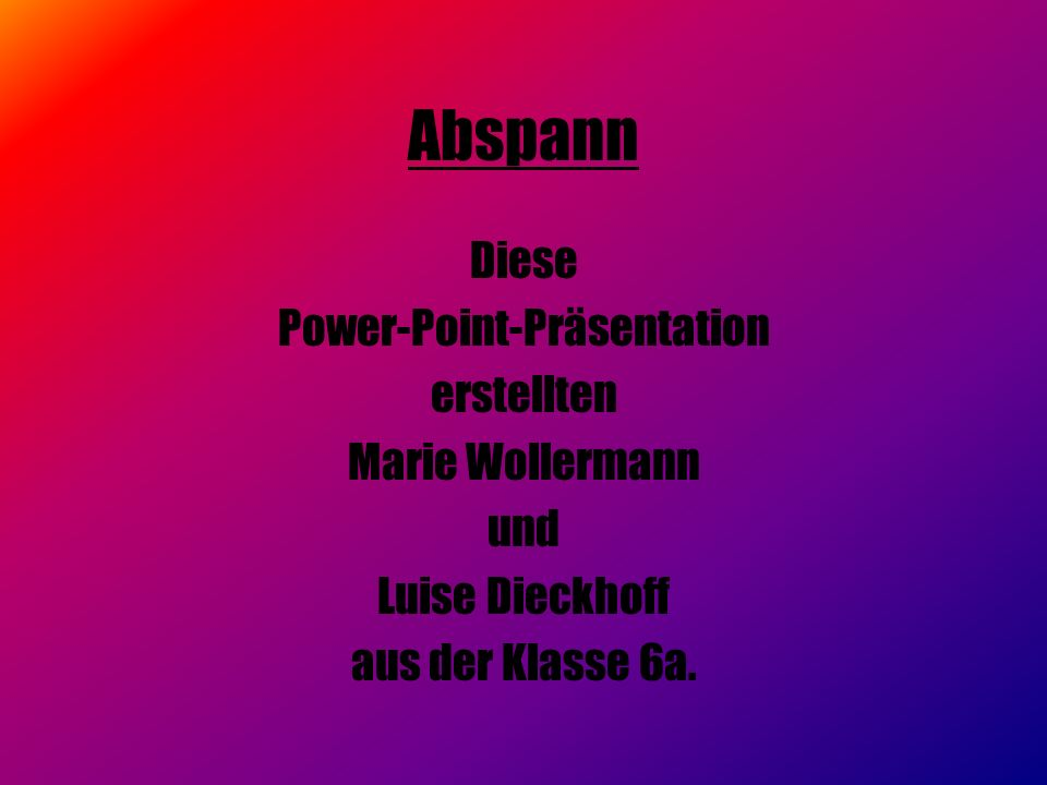 Power-Point-Präsentation