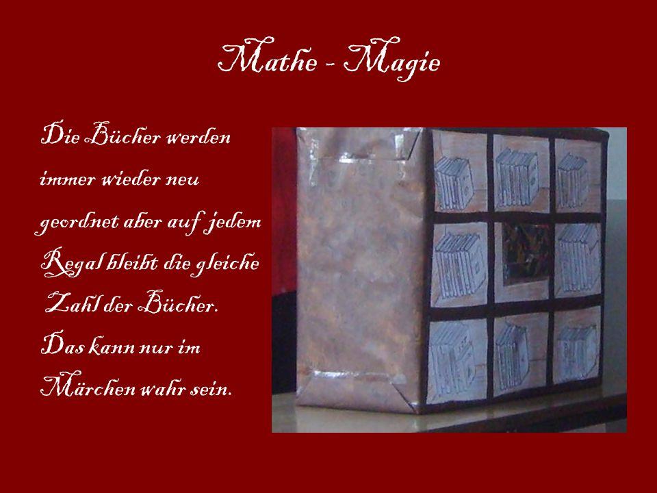 Mathe - Magie Die Bücher werden immer wieder neu