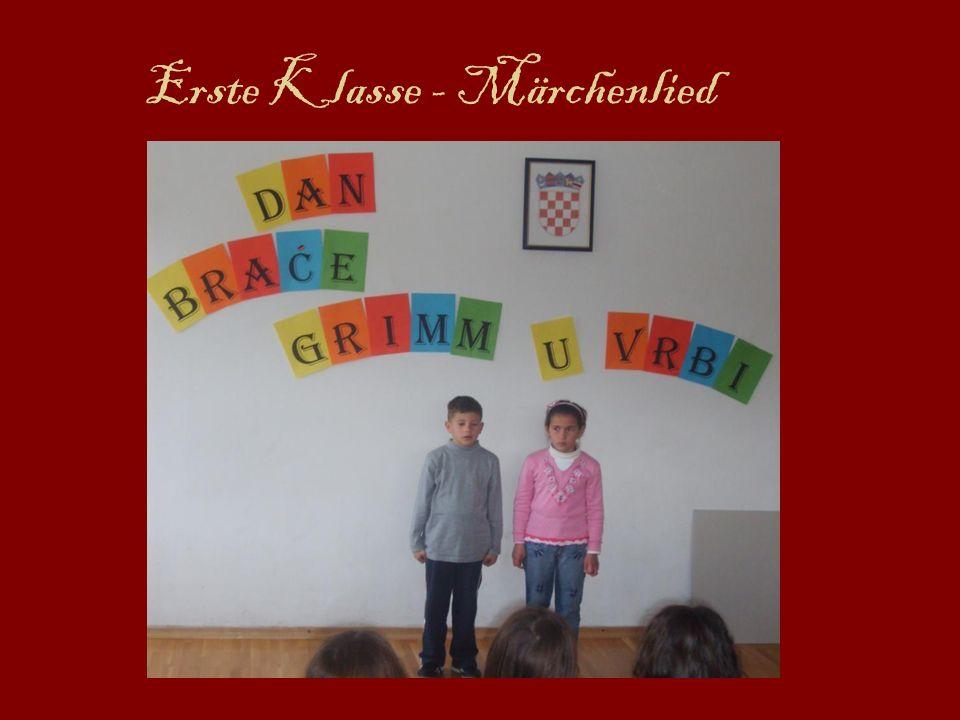 Erste Klasse - Märchenlied