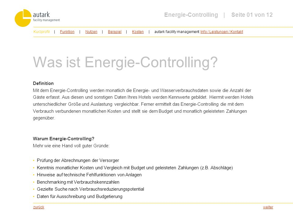 Was ist Energie-Controlling