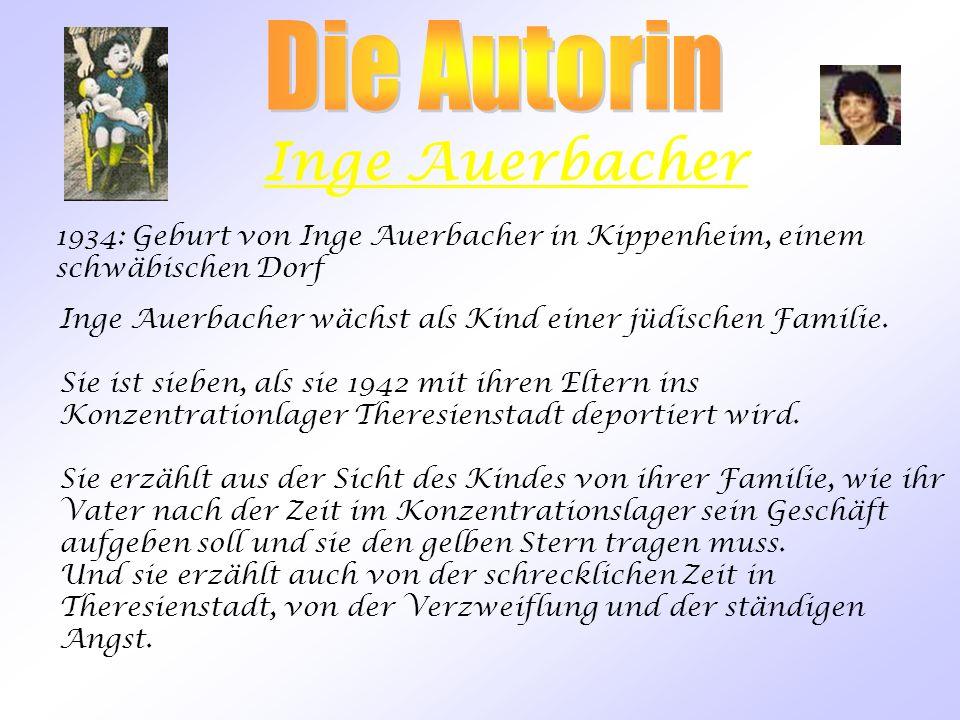 Inge Auerbacher Die Autorin