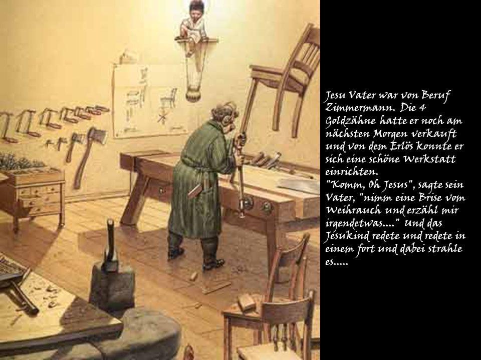 Jesu Vater war von Beruf Zimmermann