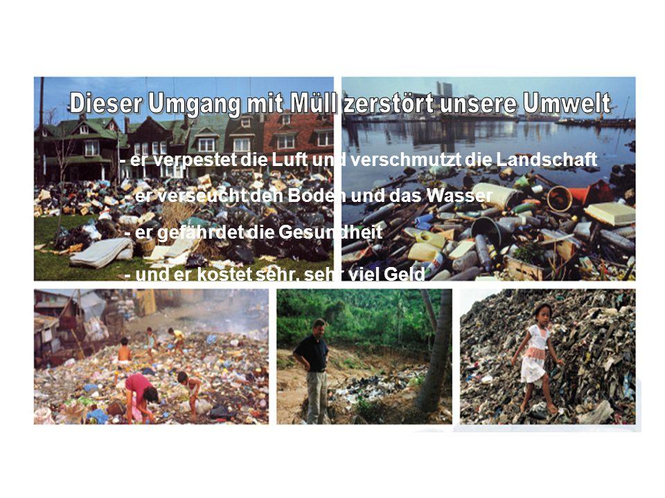 Dieser Umgang mit Müll zerstört unsere Umwelt