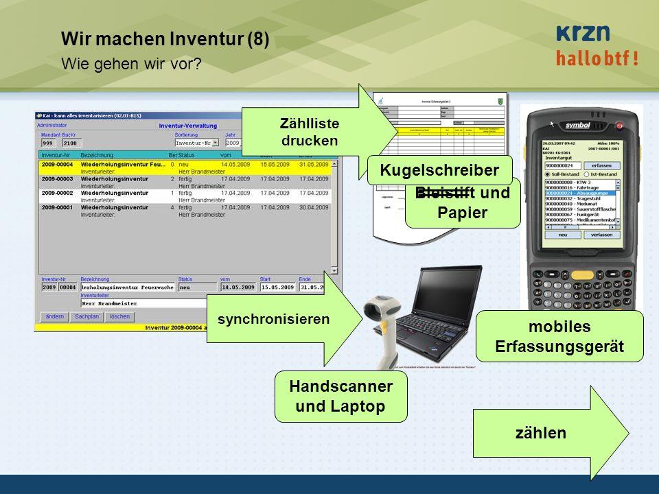 mobiles Erfassungsgerät