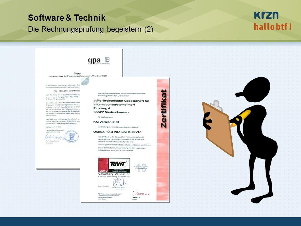 Software & Technik Die Rechnungsprüfung begeistern (2)