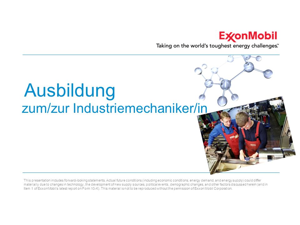 zum/zur Industriemechaniker/in