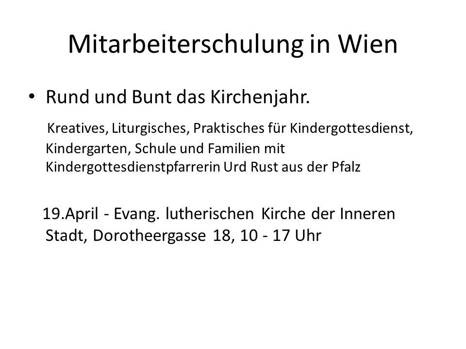 Mitarbeiterschulung in Wien