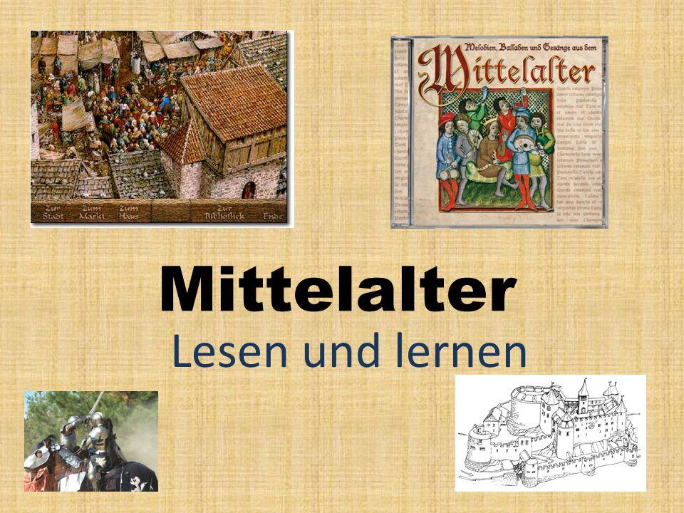 Mittelalter Lesen und lernen