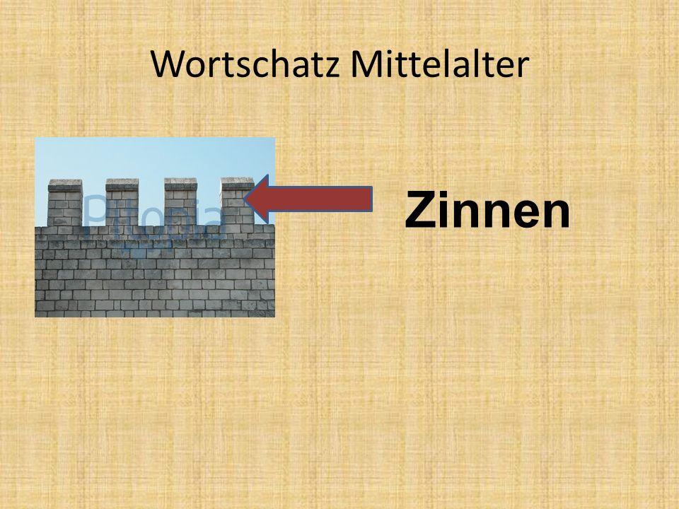 Wortschatz Mittelalter