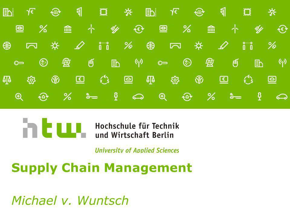Supply Chain Management Michael v. Wuntsch