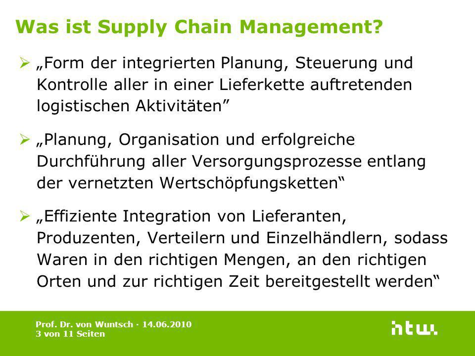 Was ist Supply Chain Management