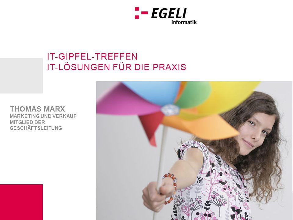 IT-GIpfel-Treffen IT-lösunGen für dIe praxIs