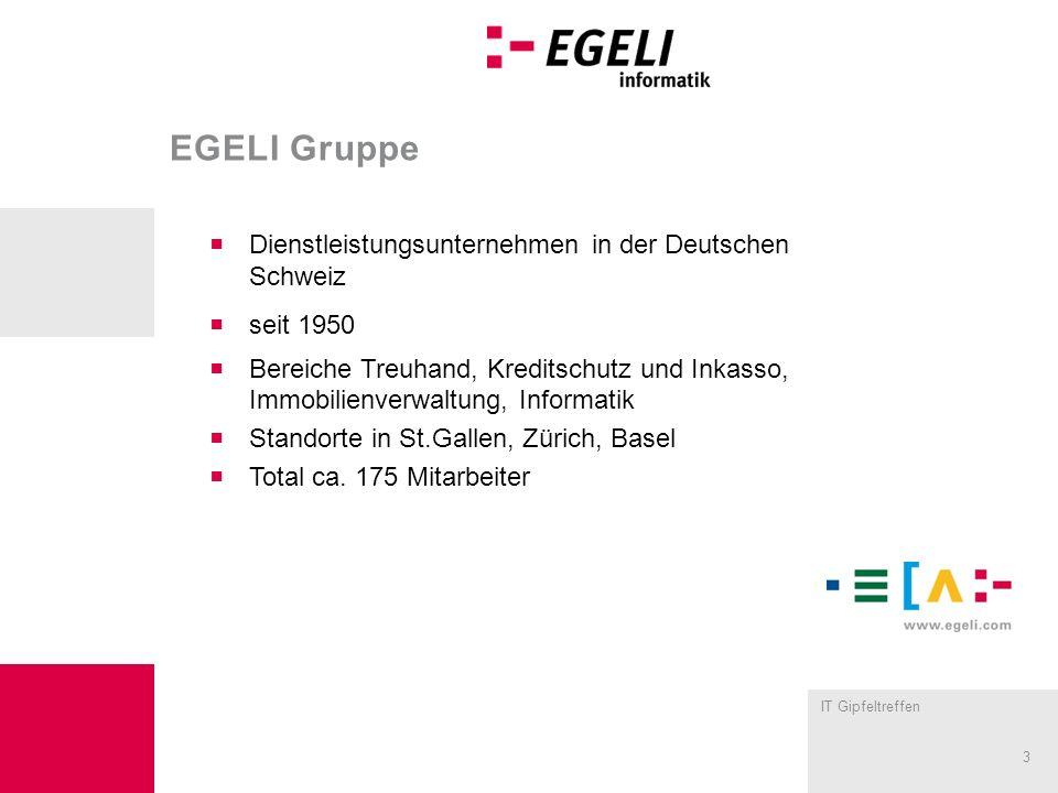 EGELI Gruppe Dienstleistungsunternehmen in der Deutschen Schweiz