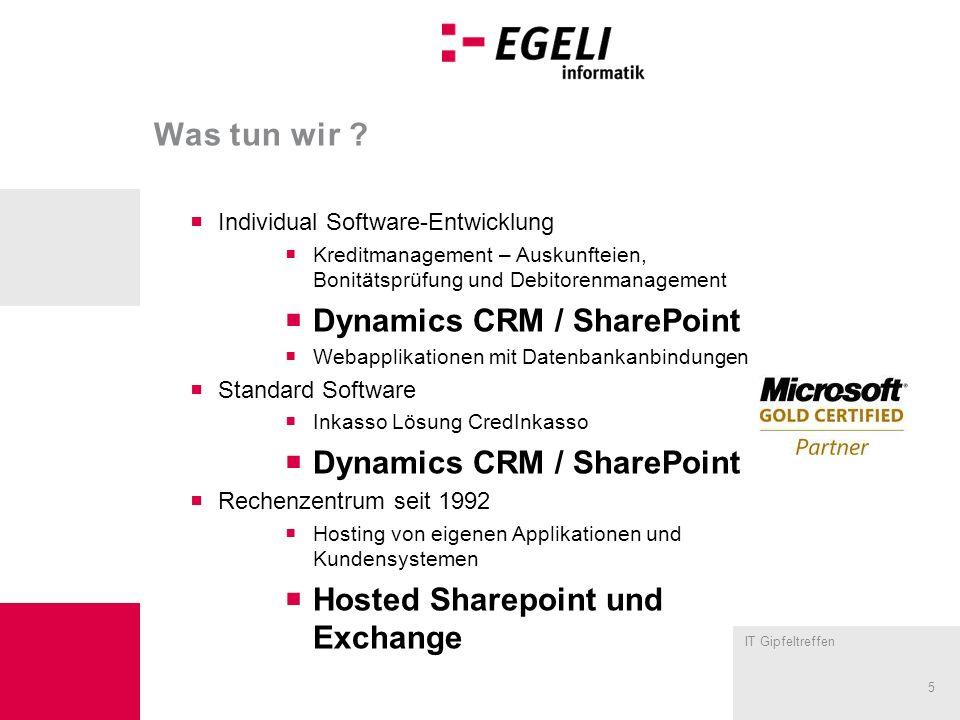 Dynamics CRM / SharePoint