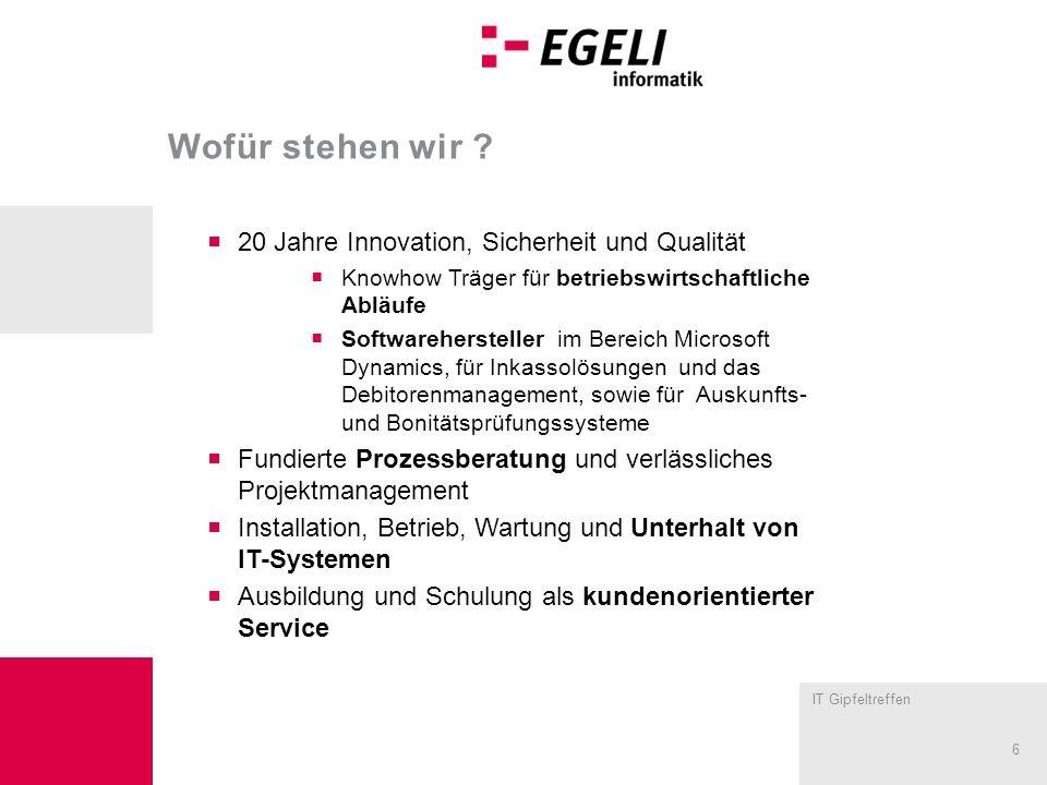 Wofür stehen wir 20 Jahre Innovation, Sicherheit und Qualität