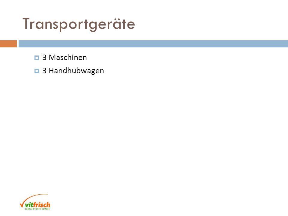 Transportgeräte 3 Maschinen 3 Handhubwagen