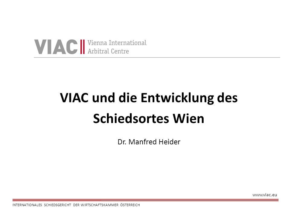 VIAC und die Entwicklung des
