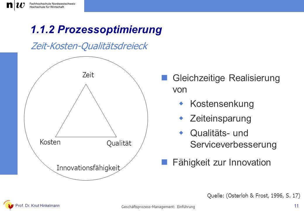 Geschäftsprozess-Management: Einführung