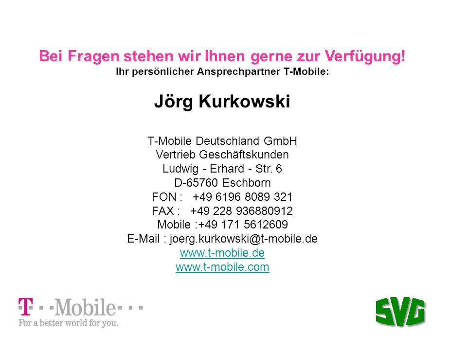 Jörg Kurkowski Bei Fragen stehen wir Ihnen gerne zur Verfügung!