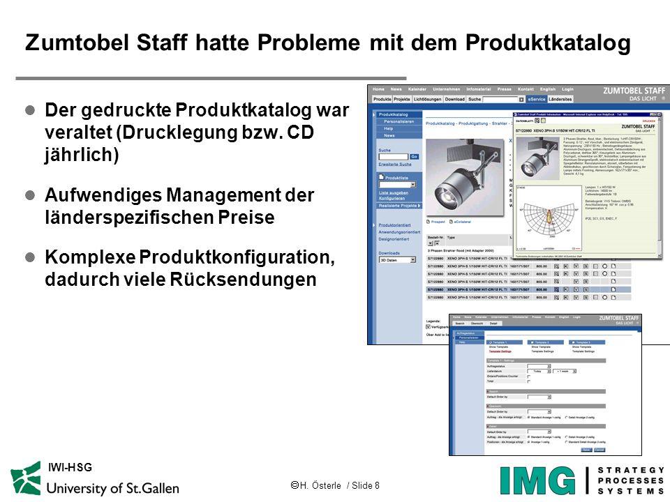 Zumtobel Staff hatte Probleme mit dem Produktkatalog