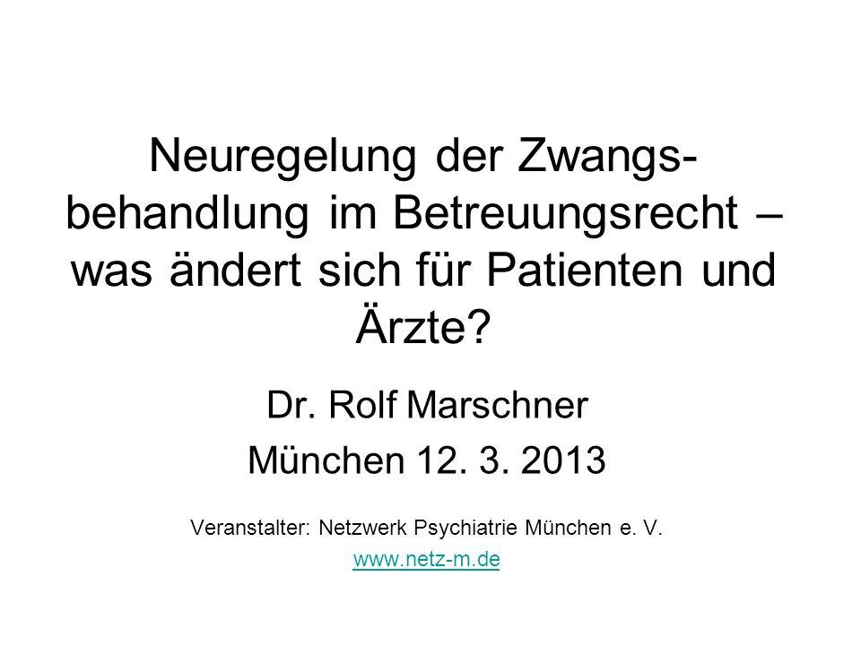 Veranstalter: Netzwerk Psychiatrie München e. V.