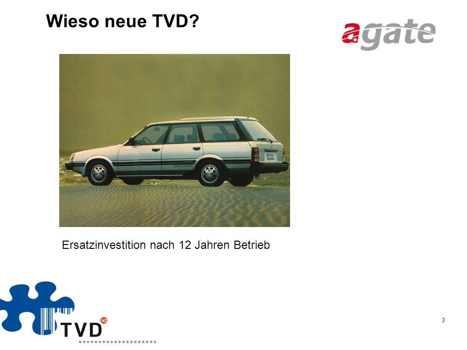 Wieso neue TVD Ersatzinvestition nach 12 Jahren Betrieb