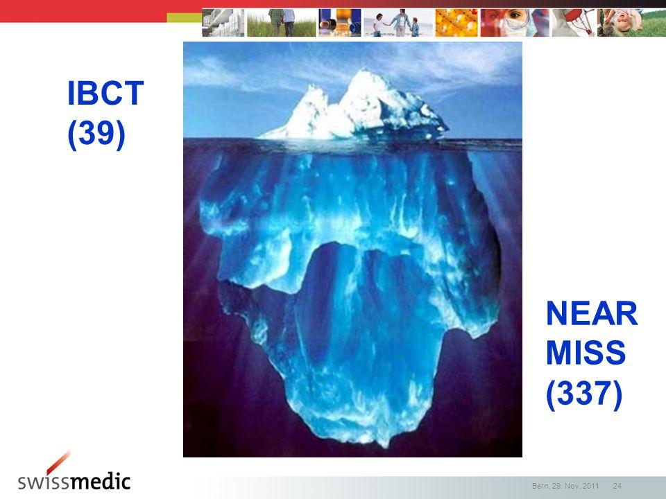 IBCT (39) NEAR MISS (337)