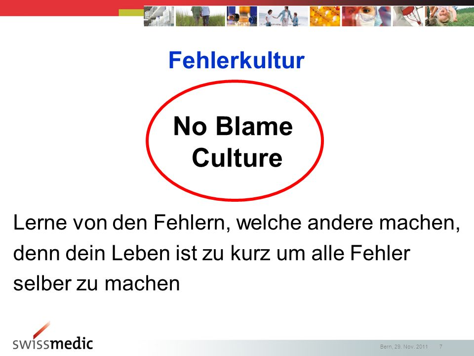 No Blame Culture Fehlerkultur