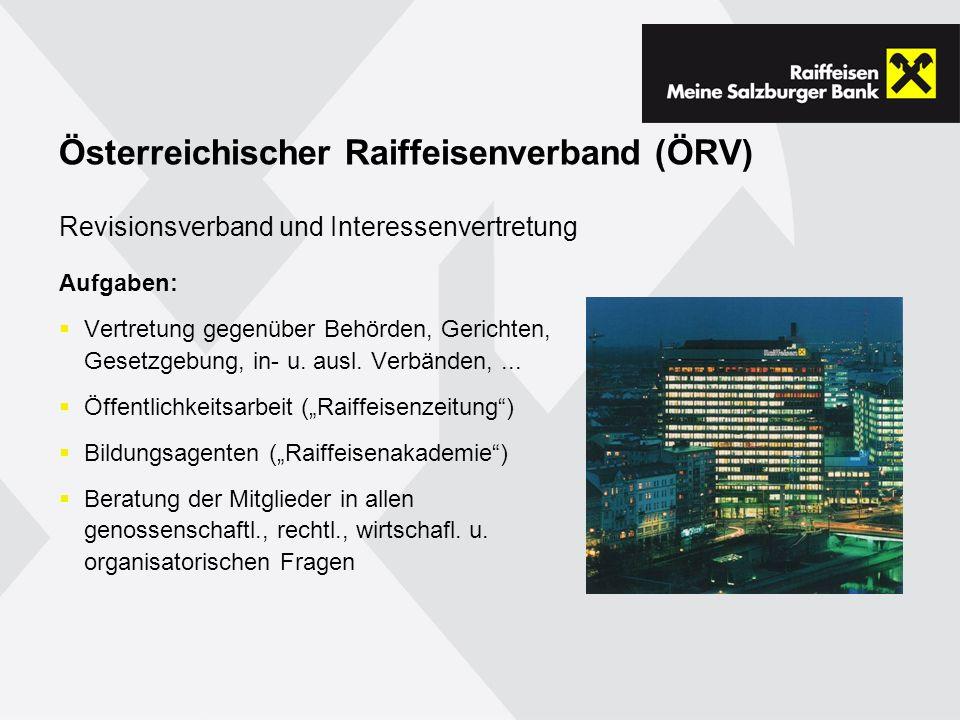 Österreichischer Raiffeisenverband (ÖRV)