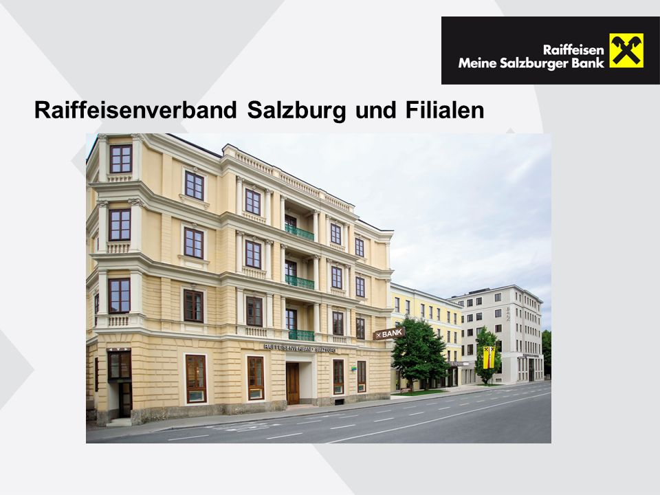 Raiffeisenverband Salzburg und Filialen
