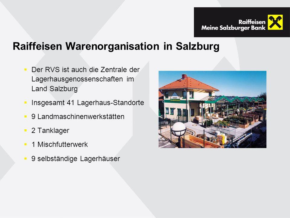 Raiffeisen Warenorganisation in Salzburg