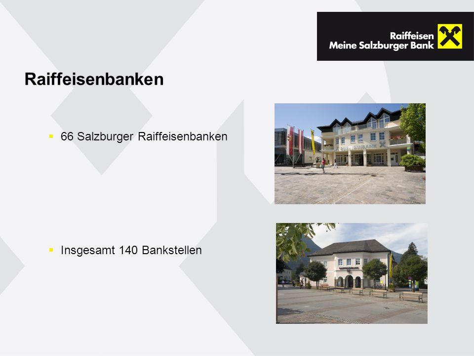 Raiffeisenbanken 66 Salzburger Raiffeisenbanken
