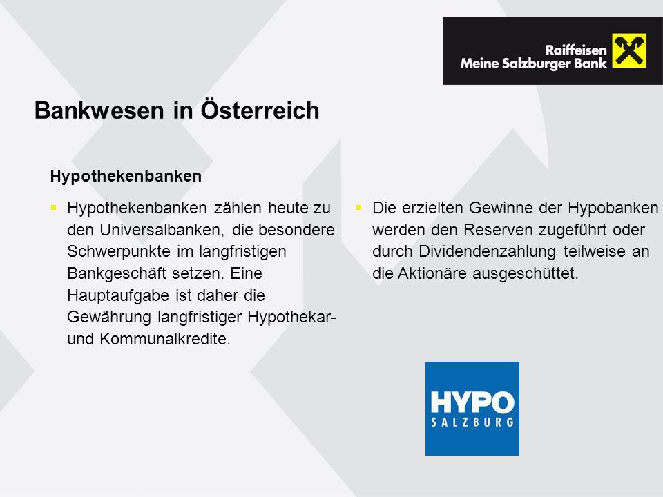 Bankwesen in Österreich
