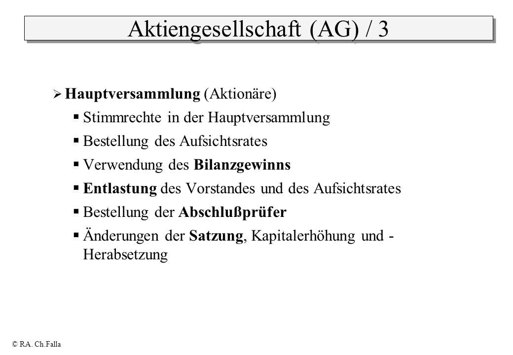 Aktiengesellschaft (AG) / 3