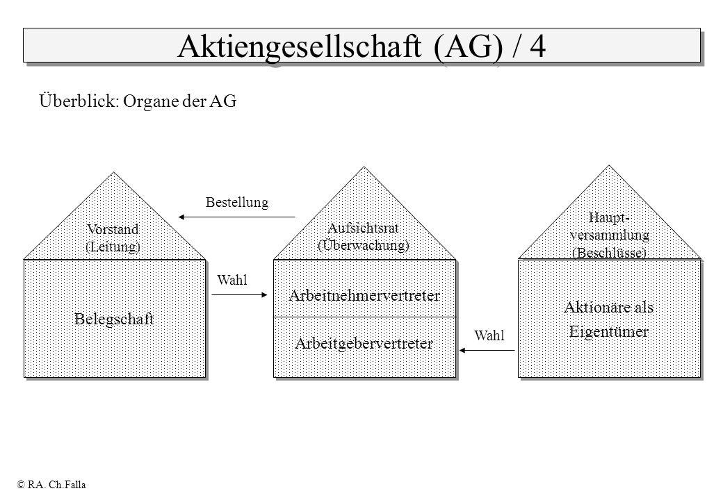 Aktiengesellschaft (AG) / 4