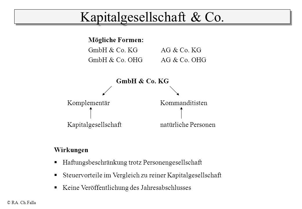 Kapitalgesellschaft & Co.