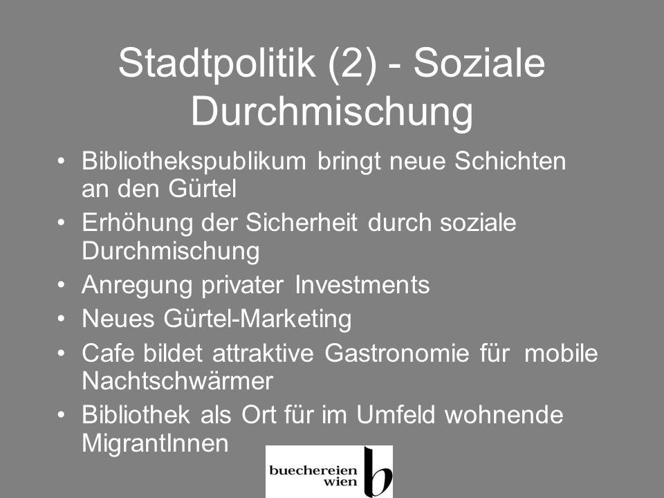 Stadtpolitik (2) - Soziale Durchmischung