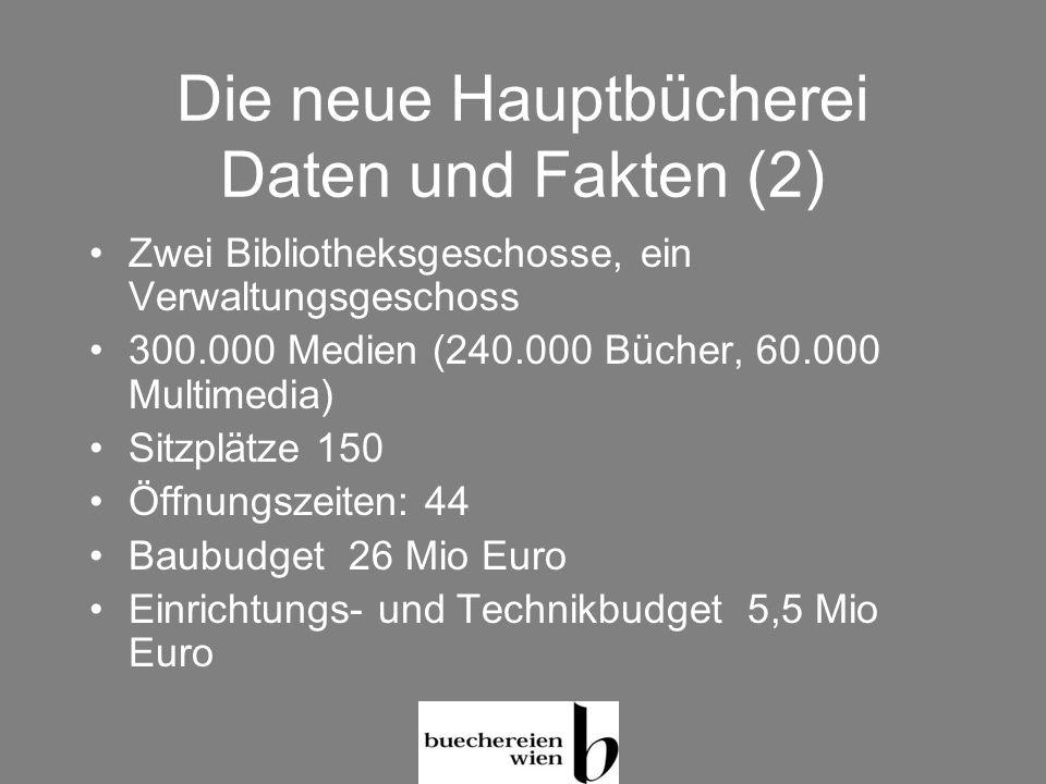 Die neue Hauptbücherei Daten und Fakten (2)