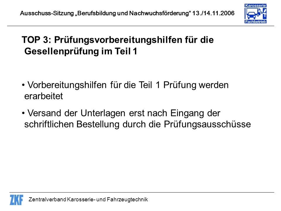 TOP 3: Prüfungsvorbereitungshilfen für die Gesellenprüfung im Teil 1