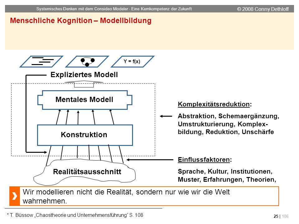 Menschliche Kognition – Modellbildung