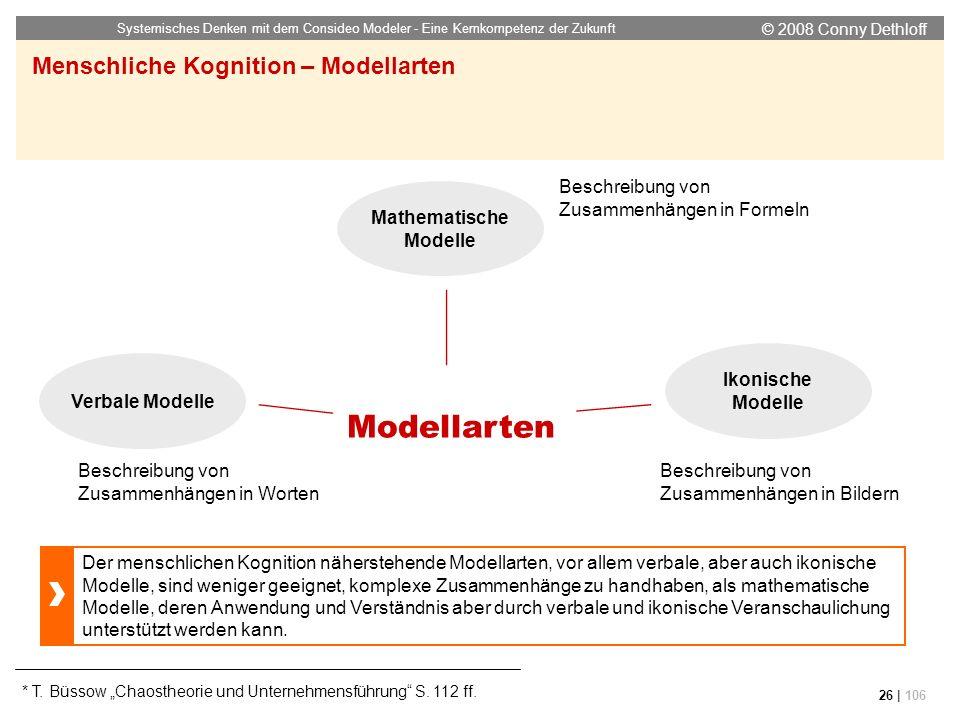 Menschliche Kognition – Modellarten